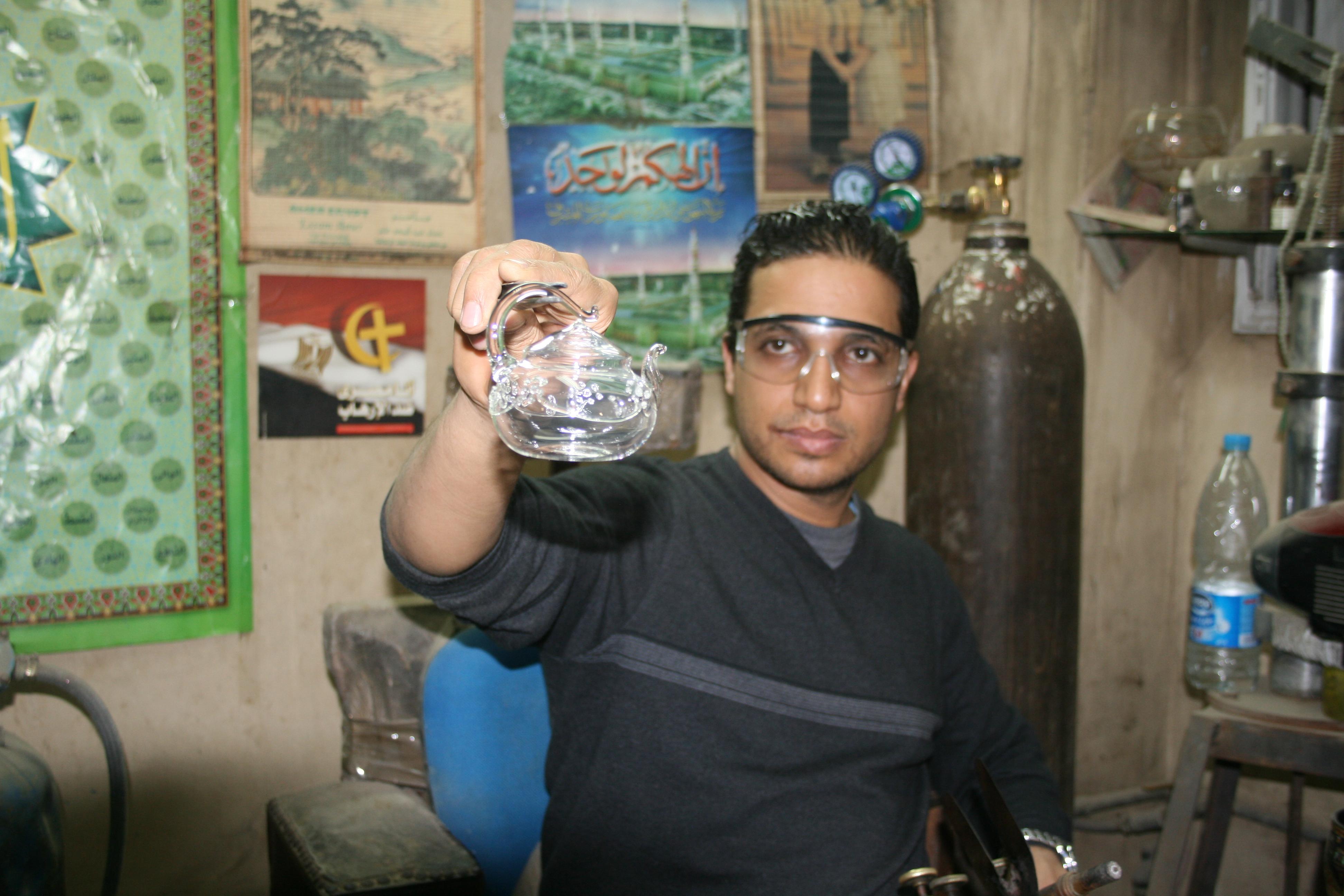Produktionsprozess Parfumflakons_11
