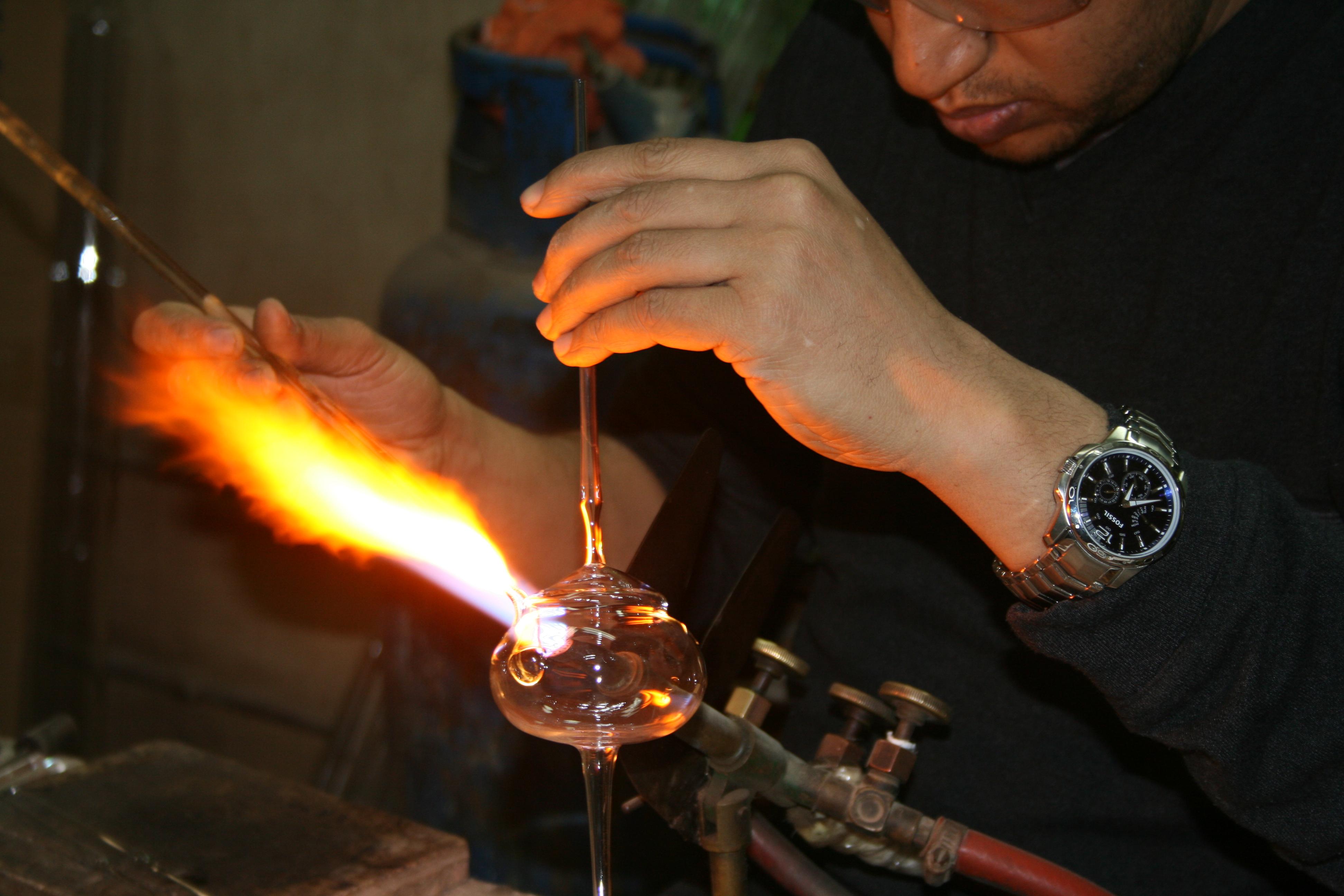 Produktionsprozess Parfumflakons_9